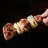 鶏レバー串150円