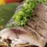 大トロ〆鯖 炙り刺し490円