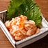 サーモン塩辛390円